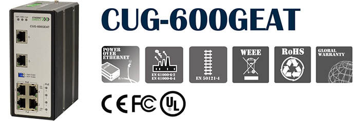 switch poe công nghiệp CUG-600GEAT