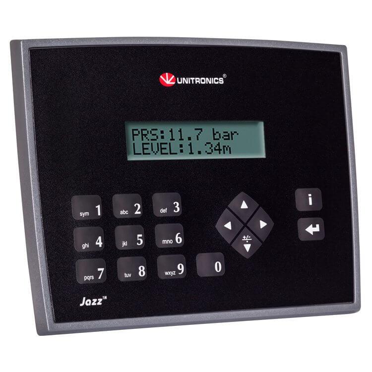 Bộ điều khiển PLC tích hợp màn hình HMI Jazz