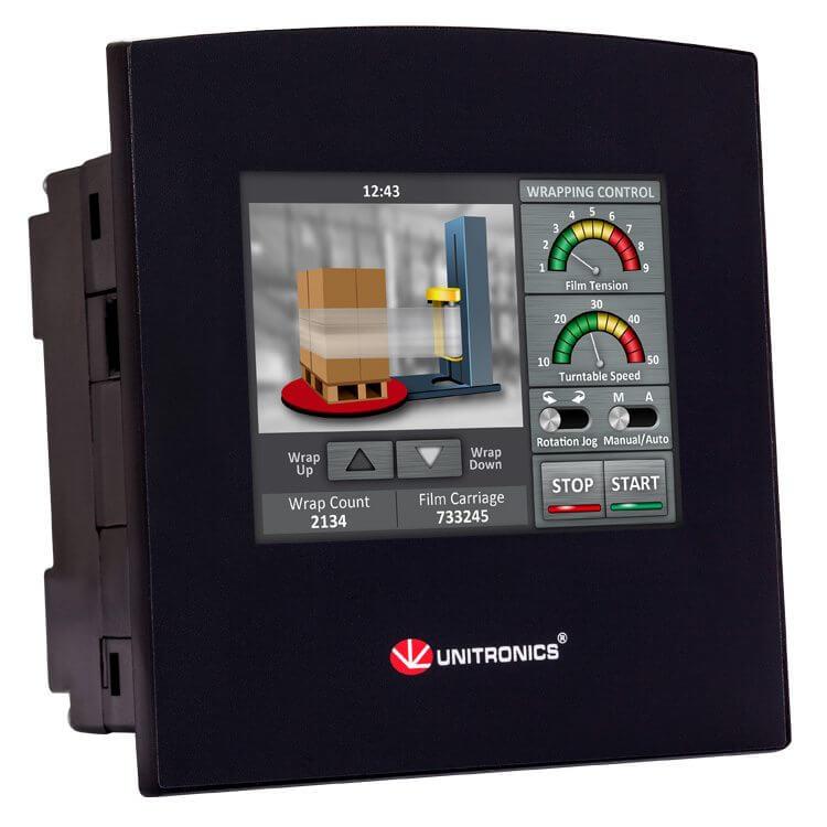 Bộ điều khiển PLC tích hợp màn hình cảm ứng HMI 3.5 inch