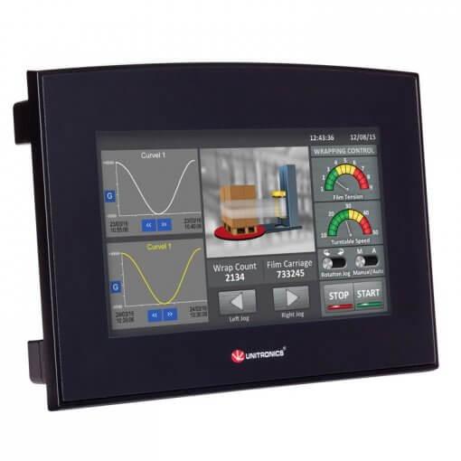 Bộ lập trình PLC tích hợp màn hình cảm ứng HMI 7 inch Samba