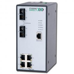 Switch công nghiệp 4-port + 2 100FX Managed Single-mode HME-423E