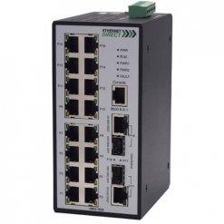 Switch công nghiệp 16-port + 2G SFP Gigabit Managed HMG-1628