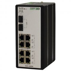 Switch công nghiệp 8-port + 2G SFP Unmanaged Gigabit HUG-828EN