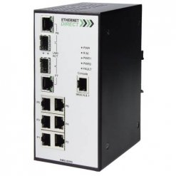 Switch công nghiệp 6-port + 2G SFP Full Gigabit Managed HMG-628G