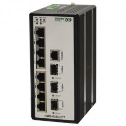 Switch công nghiệp 8-port + 3G SFP Full Gigabit Managed HMG-838GEPT