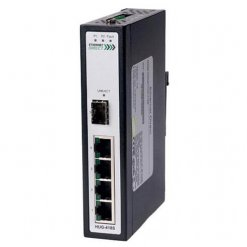 Switch công nghiệp 4-port + 1G SFP Full Gigabit Unmanaged HUG-418S