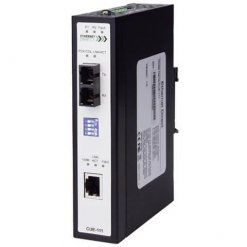 Switch PoE công nghiệp 1-port (1 cổng IEEE 802.3af PoE) + 1 100FX SC Unmanaged Multi-mode CUE-111