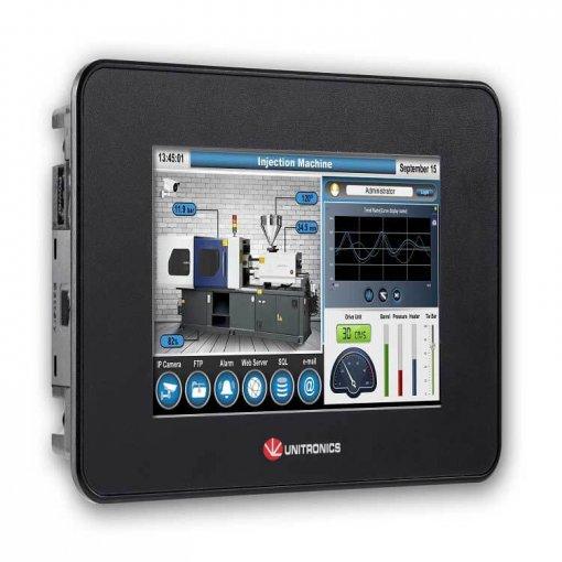 Bộ điều khiển PLC tích hợp màn hình cảm ứng HMI 5 inch
