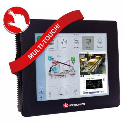 Bộ điều khiển PLC tích hợp màn hình cảm ứng HMI 10.4 inch
