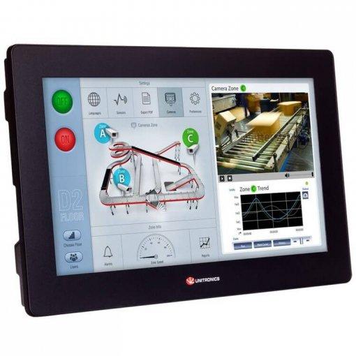 Bộ điều khiển PLC tích hợp màn hình cảm ứng HMI 15.6 inch