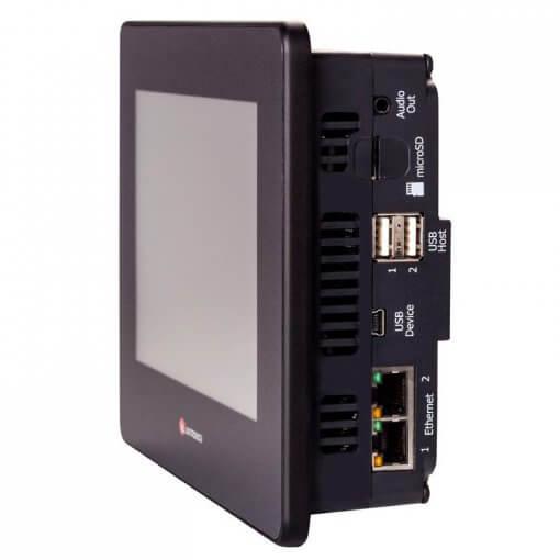 Bộ điều khiển lập trình PLC tích hợp HMI 7 inch UniStream Modular