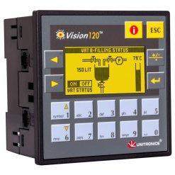 Bộ lập trình PLC tích hợp màn hình LCD 2.4 inch Vision120
