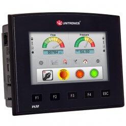 Bộ lập trình PLC tích hợp màn hình cảm ứng HMI 4.3 inch Vision430