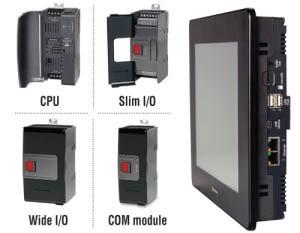 PLC + HMI UniStream Modular