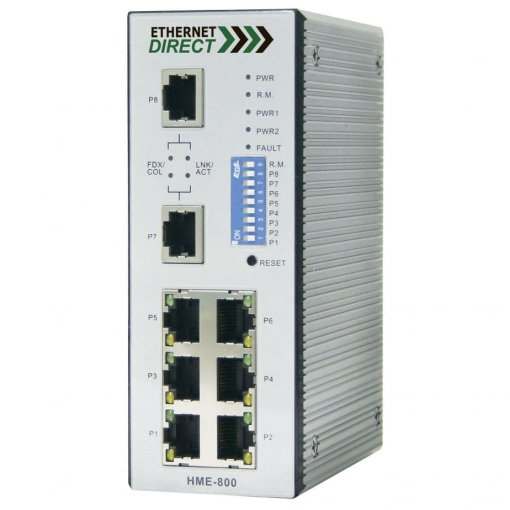 Switch công nghiệp 8-port Web Managed HWE-800