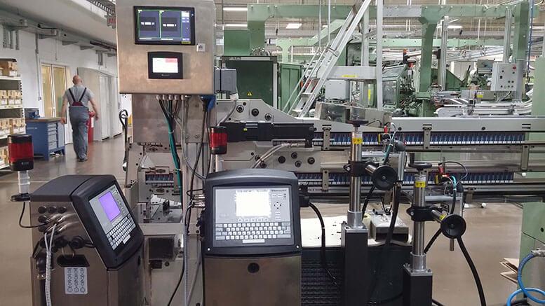 Chế tạo máy in nhãn công nghiệp với PLC + HMI Samba 4.3