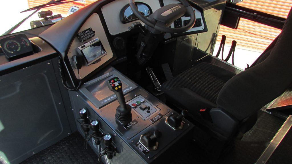 Nâng cấp công nghệ điều khiển xe chữa cháy với PLC + HMI