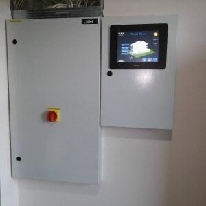 tủ giám sát điều khiển hệ thống hvac khách sạn