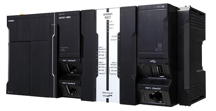 Bộ điều khiển lập trình PLC Omron NX7 Series