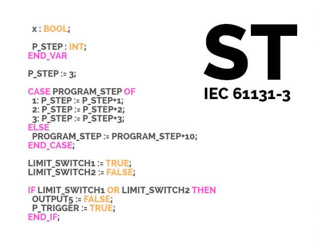Ngôn ngữ lập trình PLC ST / STL