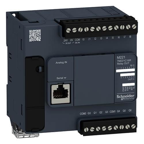 Bộ điều khiển lập trình PLC Schneider Modicon M221 Series