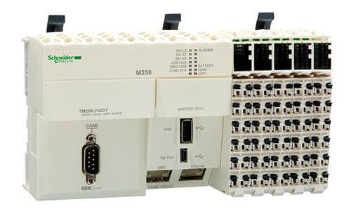 Bộ điều khiển lập trình PLC Schneider Modicon M258 Series