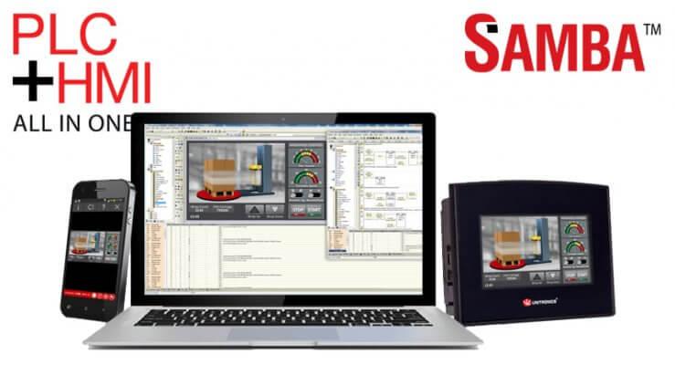 Bộ điều khiển lập trình PLC Samba