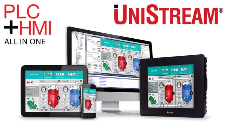 Bộ điều khiển lập trình PLC UniStream