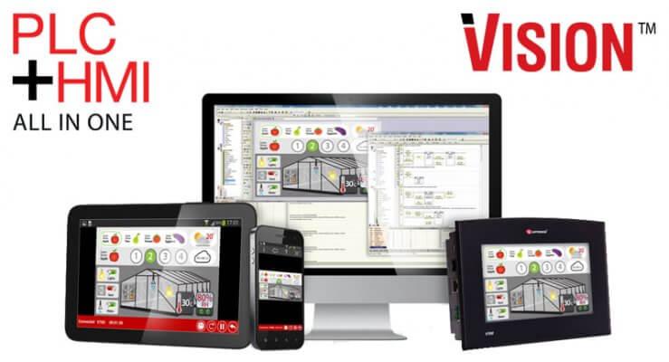 Bộ điều khiển lập trình PLC Vision