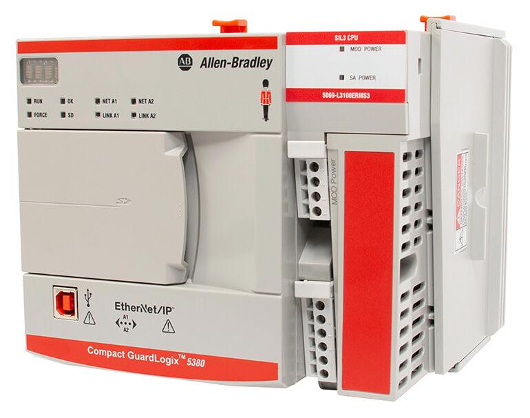 Compact GuardLogix 5380 | PLC Rockwell (Allen-Bradlay)