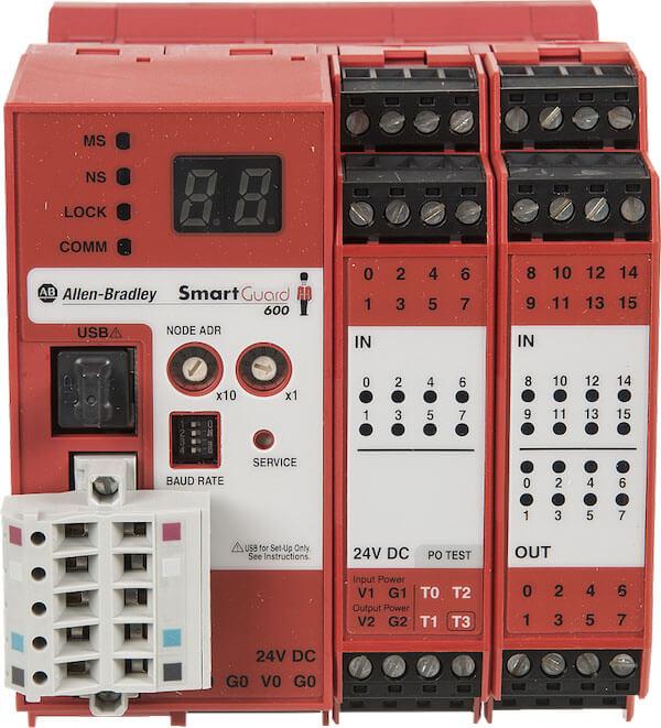 PLC Rockwell SmartGuard 600 Safety