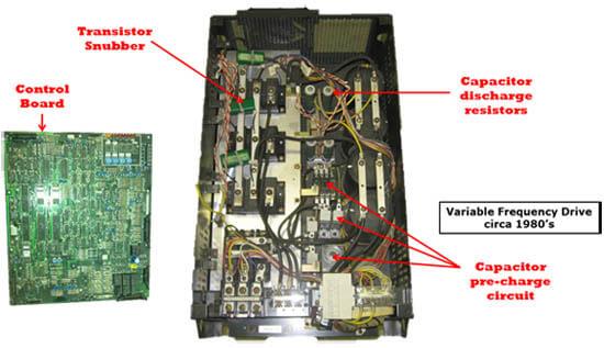 Cấu tạo biến tần VFD