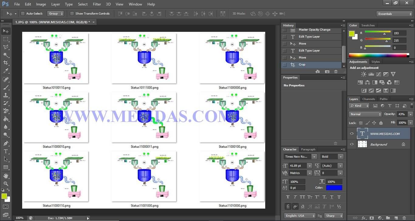 Sử dụng Photoshop CS6 xử lý đồ họa cho Web Server