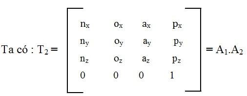 Bài toán động học ngược