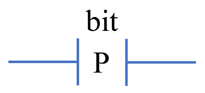 Tiếp điểm P trong LAD Ladder Logic