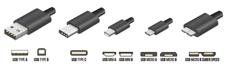 Các loại chuẩn đầu nối USB