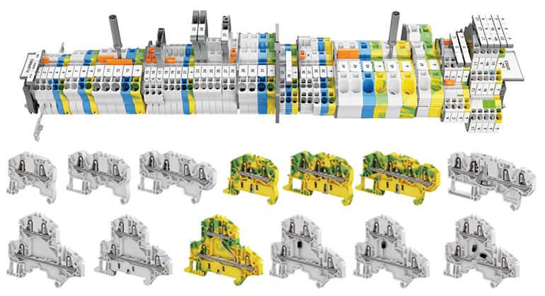 Terminal blocks - cầu đấu điện loại mở rộng