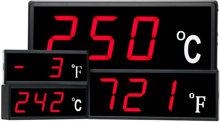 Bộ hiển thị dữ liệu cảm biến nhiệt độ
