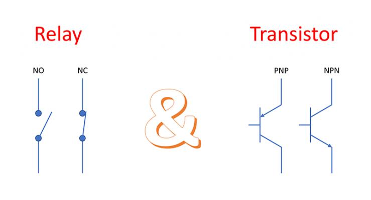 Transistor & Relay Output | Phân biệt ngõ ra Transitor và Rơle