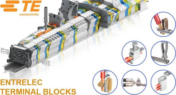 Cầu đấu dây điện TE/ABB ENTRELEC Terminal Block