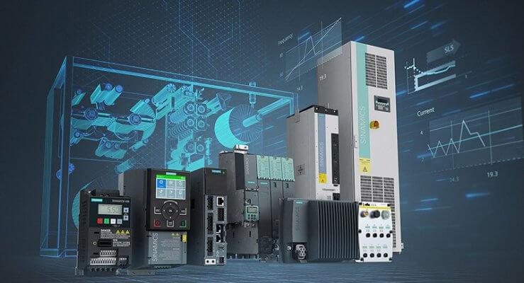 Biến tần Siemens | Các dòng biến tần SINAMICS VFD Siemens