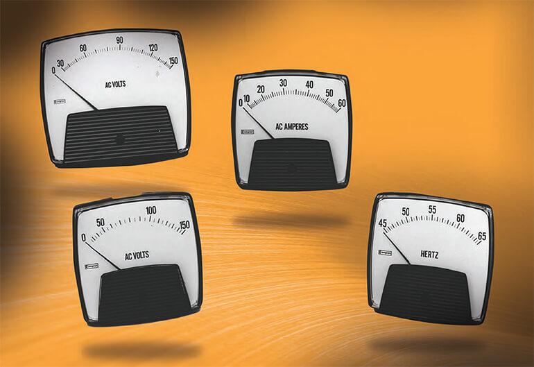 Đồng hồ đo điện cơ dòng Saxon