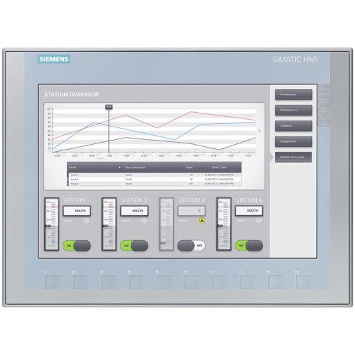 """6AV2123-2MA03-0AX0 Màn hình cảm ứng HMI 12"""" Key KTP1200 Basic"""