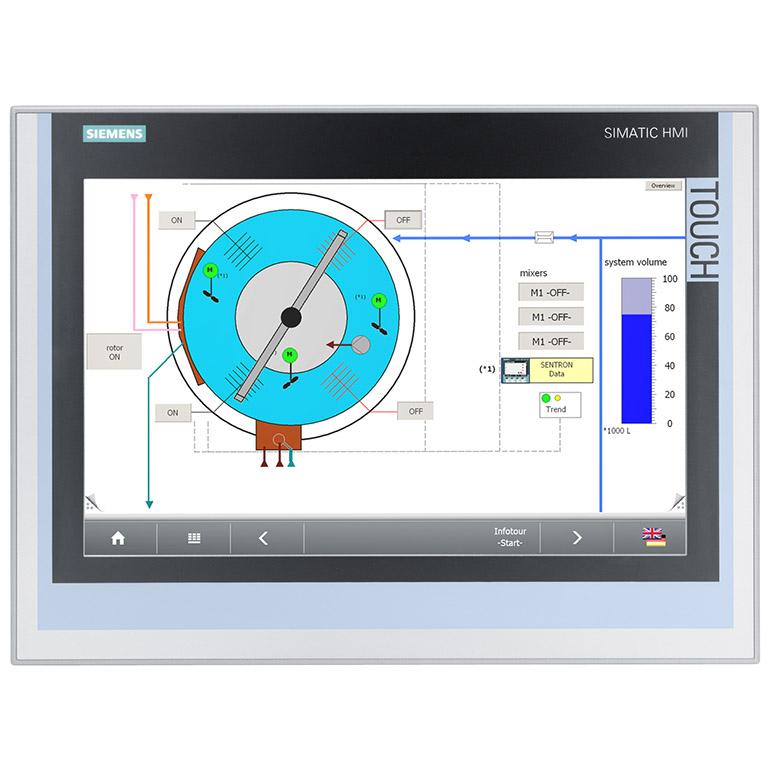 Màn hình công nghiệp SIMATIC Industrial Flat Panel Touch-NoTouch
