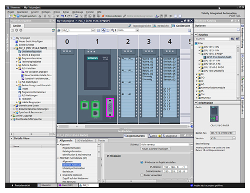 Phần mềm SIMATIC STEP 7 Professional (TIA Portal)