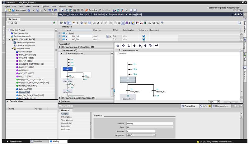 Trình chỉnh sửa SIMATIC STEP 7 Professional (TIA Portal)