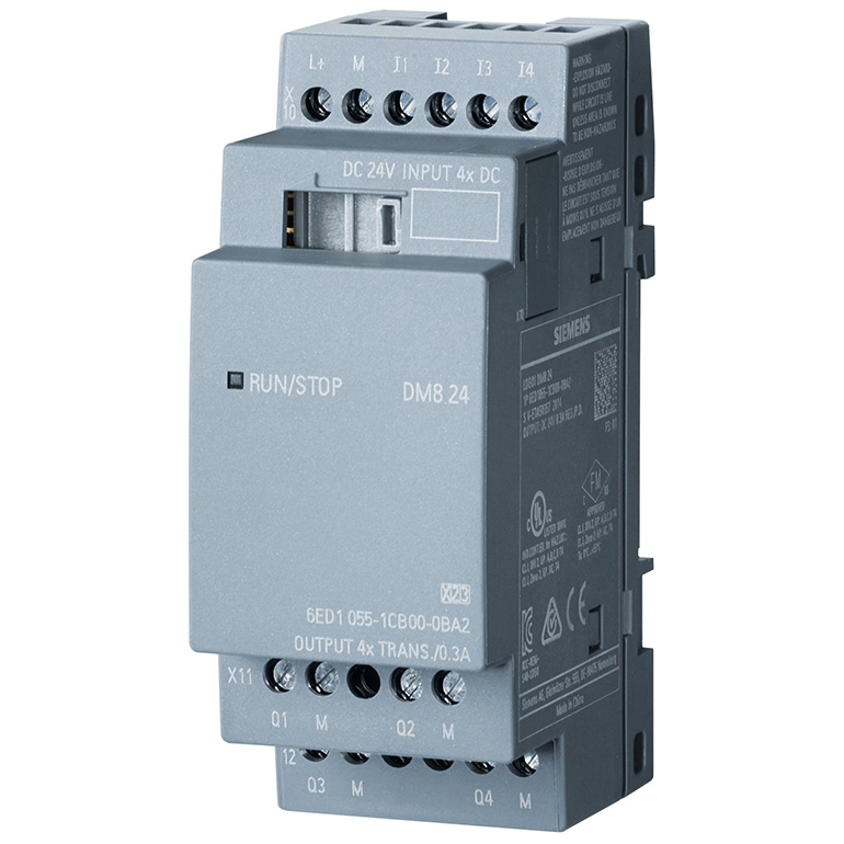 Module mở rộng 4DI/4DO LOGO! DM8 24 6ED1055-1CB00-0BA2