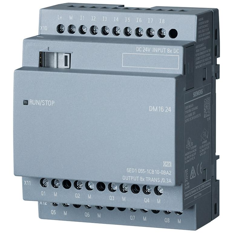 Module mở rộng 8DI/8DO LOGO! DM16 24 6ED1055-1CB10-0BA2