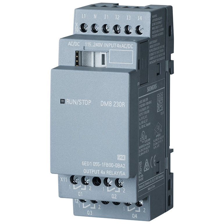 Module mở rộng 4DI/4DO LOGO! DM8 230R 6ED1055-1FB00-0BA2