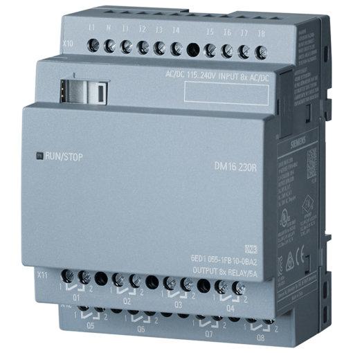 Module mở rộng 8DI/8DO LOGO! DM16 230R 6ED1055-1FB10-0BA2